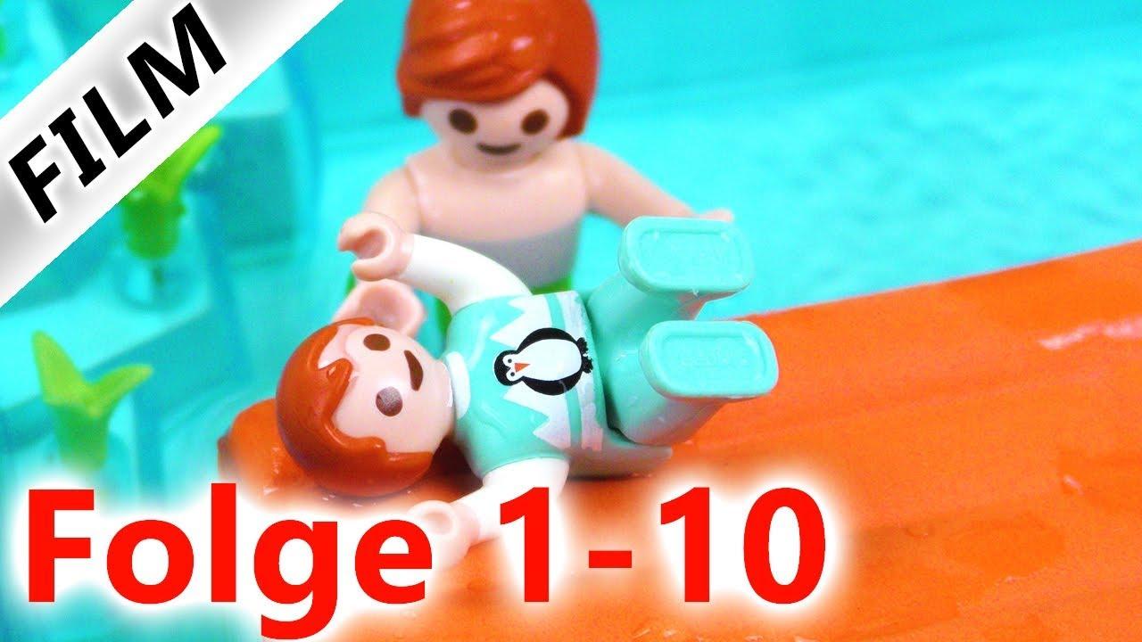 Playmobil Film Deutsch - FAMILIE VOGEL Folge 1-10   1 Stunde Spaß   Spiel mit mir KinderSpielzeug