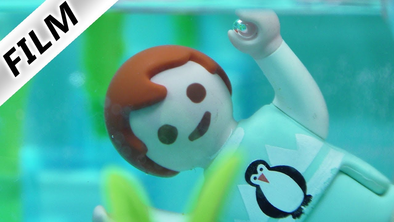 Playmobil Film - Emma fällt in Pool