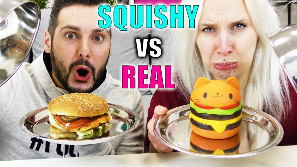 Squishy vs real food