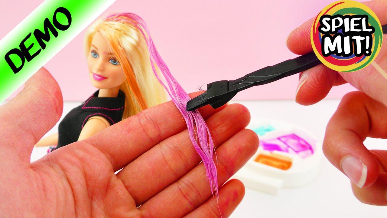 Barbie Mix'n Colour Haarfarbe