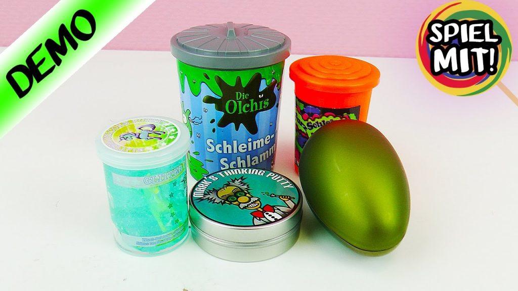 5 coole SCHLEIM & GLIBBER Sorten | Kathis Lieblinge aus der Intelligente Knete, Schleim & Putty Welt