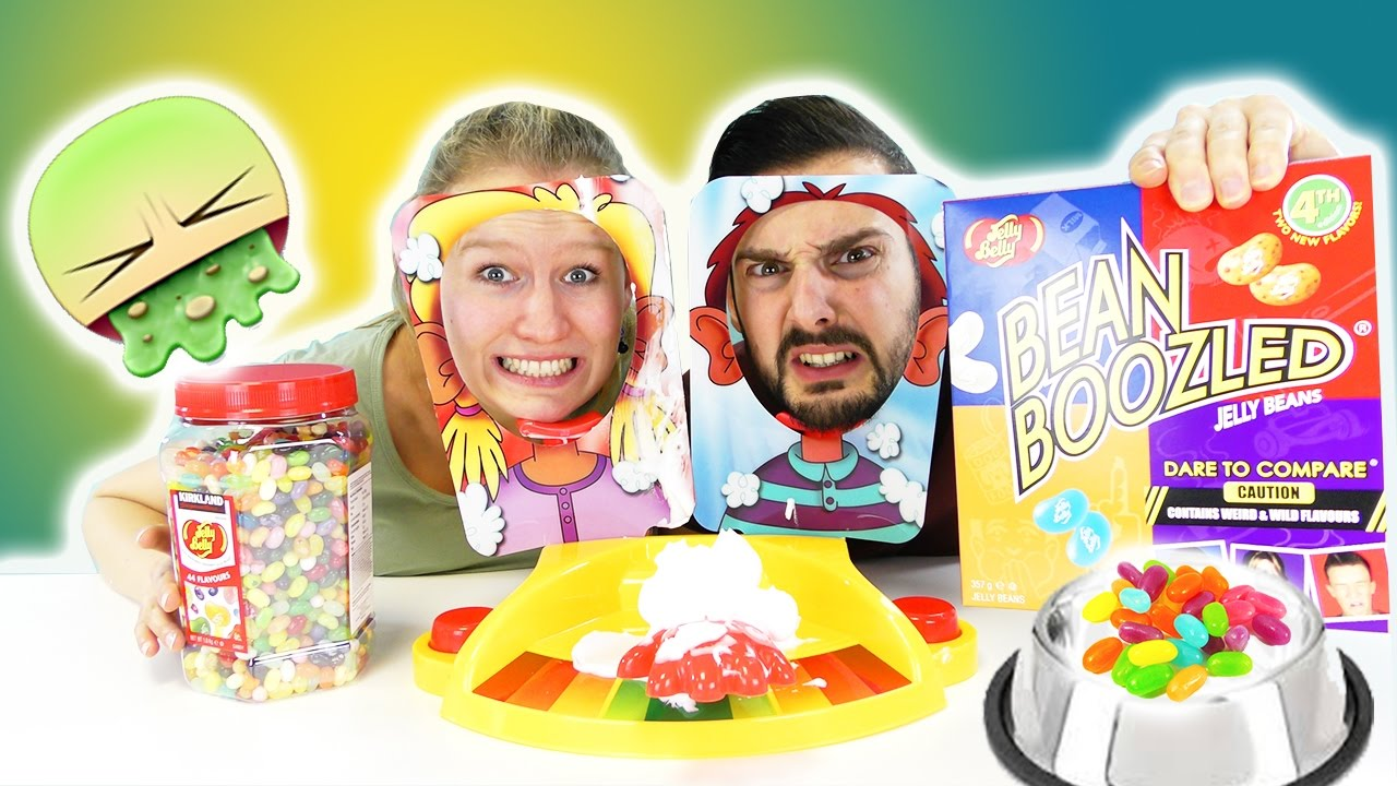 Jelly Beans Boozled Challenge